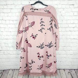 Alfani Midi dress rose color sz 14